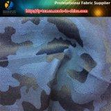 Stof van de Jacquard van het Katoenen Patroon van het Garen van de polyester/de Geverfte Vernietigende