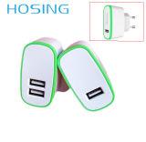 5V 2.1A choisissent le logo d'OEM de chargeur de mur d'USB pour le mobile