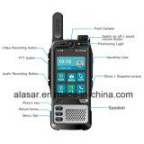 El soporte móvil de los datos de la policía de múltiples funciones esté utilizando como registrador de la aplicación del sitio, comunicación del teléfono, Talkback