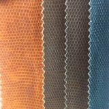 쇼핑 백을 만들기를 위한 튼튼한 자갈 곡물 PVC 가죽