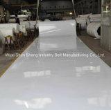 En PVC résistant à l'huile blanche de chocolat pour la promotion de la courroie du convoyeur