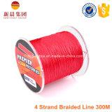 300m 4 spettri Braided dei fili che pescano la riga del PE