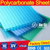 8mm Doppel-Wand Vigin Sabic Material-grünes Haus-Panels 100%