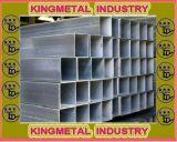 Retângulo/Square Gr. B ASTM A53 tubo de aço galvanizado a quente
