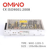 Wxe-120s-5 AC à DC 110V / 220V Alimentation par commutation Alimentation CCTV avec Ce RoHS