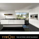 流行のデザイナー台所現代台所家具の白い食器棚Tivo-0099V