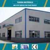 Entrepôt préfabriqué bon marché de structure métallique de bâti en acier de panneau d'Alc