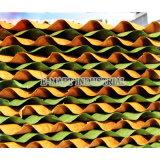 Rideau humide agricole en bonne qualité/mur de refroidissement de garniture/garniture humide