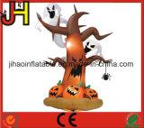 Kundenspezifischer Halloween-aufblasbarer Baum, Halloween-aufblasbare Dekoration für Verkauf