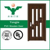 Venda por grosso de PVC portas de vidro interior para uso de Banho