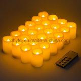 Funcionan de la batería sin flama de la luz de velas LED/Cera De Parafina Velas LED/LED de luz de té