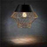 Dachboden-Retro industrielle Decken-Lampen-Dekoration-Schlafzimmer-/Study-Raum/Wohnzimmer Golded LED Deckenleuchte