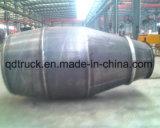 3--9M3 de tank van de cementmixer, concrete mixertank