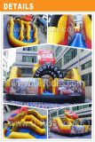Factory Price Because Shape Inflatable Combo Inflatable Bouncer Jumping Castle With Slide For Kids