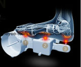 Rouleau-masseur de malaxage de patte de pied de roulement avec le bleu personnel à télécommande d'outil de soins de santé à la maison