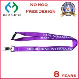 Acollador púrpura modificado para requisitos particulares internacional de Melbourne con el clip de dogo (KSD-848)