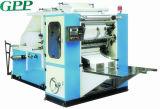 Alta velocidade automática que dobra a máquina da fatura de papel de tecido facial