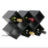 Exclusiva caja de almacenamiento de vino hecho a mano
