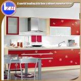 MDFの黒いアクリルの食器棚の家具(カスタマイズされる)