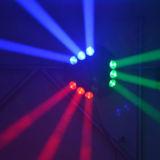 Van de LEIDENE van het UFO DMX van het stadium Bewegende Hoofd Spin van de Straal RGB