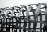 Poliestere solubile in acqua Geogrid del PVC Bixial