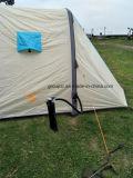 Grande tente campante de gonflage de première pente