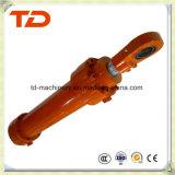 Cilindro del petróleo de la asamblea de cilindro hidráulico del cilindro del auge de KOMATSU PC400-8 para los recambios del cilindro del excavador de la correa eslabonada
