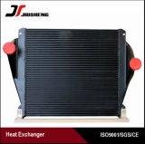 Refroidisseur intermédiaire en aluminium brasé de camion de plaque de barre