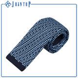Mischungs-Farben-Form-Entwurfs-Aktien gestrickte Krawatte für Mann