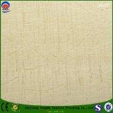 Textile à la maison enduisant le tissu de rideau en polyester tissé par arrêt total ignifuge imperméable à l'eau