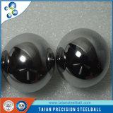 Plata con acabado de espejo bola de acero inoxidable con el precio de fábrica