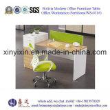 Einfache Personal-Büro-Schreibtisch-moderne Büro-Arbeitsplatz-Möbel (WS-08#)