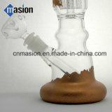 Conduite d'eau de fumage en verre de pipe de tabac de Handblown (BY005)