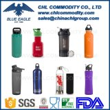 Garrafa de água desportiva de vácuo de aço inoxidável de vácuo de parede dupla, garrafa de água de plástico, garrafa de água de infusor de vidro, garrafa de vibração Joyshaker, garrafa de abanador de fitness