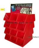 Afficheur de palette en carton, Présentoir promotionnel de supermarché, Boîte d'affichage PDQ (B & C-D008)