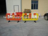 Barreira plástica do tráfego de estrada com base de borracha de 360 graus (S-1644B)