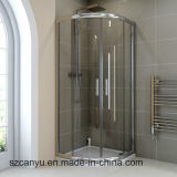 Partitions de douche en verre Tempered pour la pièce de douche