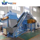 Clé en main déchets automatique usine de recyclage de pneus pour le caoutchouc poudre granuleuse