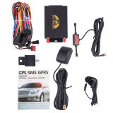 RFIDの読取装置を持つ追跡者105Aおよび自動車およびバスのためのカメラを追跡するGPSの温度