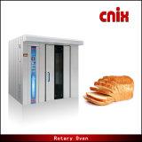Печь выпечки шкафа подносов оборудования 32 хлебопекарни электрическая вращая