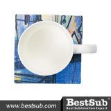 Caboteur de toile de tasse de sublimation (12.5*12.5cm) (BMWD1212)