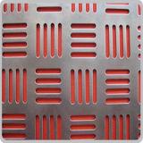 Acoplamiento perforado del metal de la alta calidad con el certificado de la ISO 9001