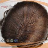La Virgen de la Seda Cabello Remy Top mujer peluca (PPG-L-0090)