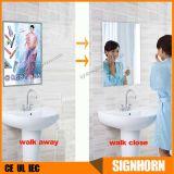LED魔法ミラーの浴室の広告