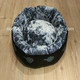 Высокое качество роскошь облака вышивка мягкие кровати Pet для собак
