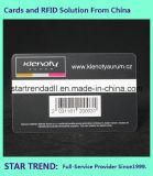 Offsetdruck-Standardkarte mit Barcode für Anzeige