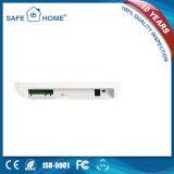 Novo sistema desenvolvido de segurança de bateria recarregável de reserva de sistema de alarme GSM para casa