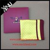 エンベロプボックスが付いているカスタムロゴプリント絹のスカーフ