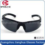Lentes de seguridad con estilo LED Lentes de protección UV Negro Lentes de pesca Ciclismo Conducir Vóleibol Riding Gafas de sol