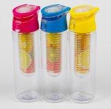 bottiglia di plastica di Infuser della frutta 700ml